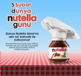 5 Şubat Dünya Nutella Günü