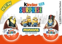 Kinder Surprise launches a new Minions limited edition
