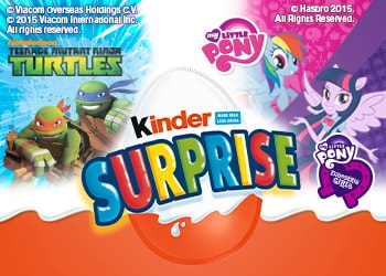 Kinder Surprise is back with NEW exciting Pink and Blue Licenses