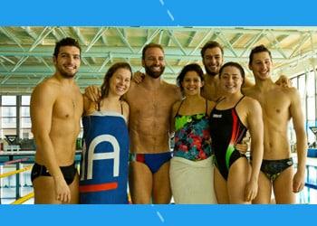 Un giorno con l'Italia Team