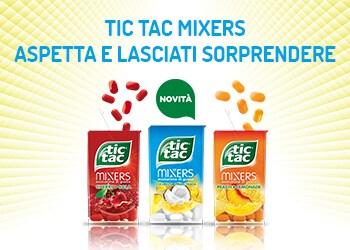Tic Tac Mixers Coconut Piña Colada: aspetta e lasciati sorprendere!
