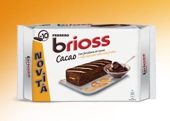 Ferrero Brioss Cacao e Agrumi: una golosa novità