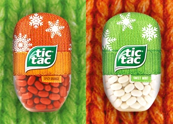 TIC TAC LAUNCHES WINTER WARMERS