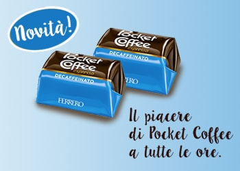 Pocket Coffee Decaffeinato: il piacere di Pocket Coffee® a tutte le ore
