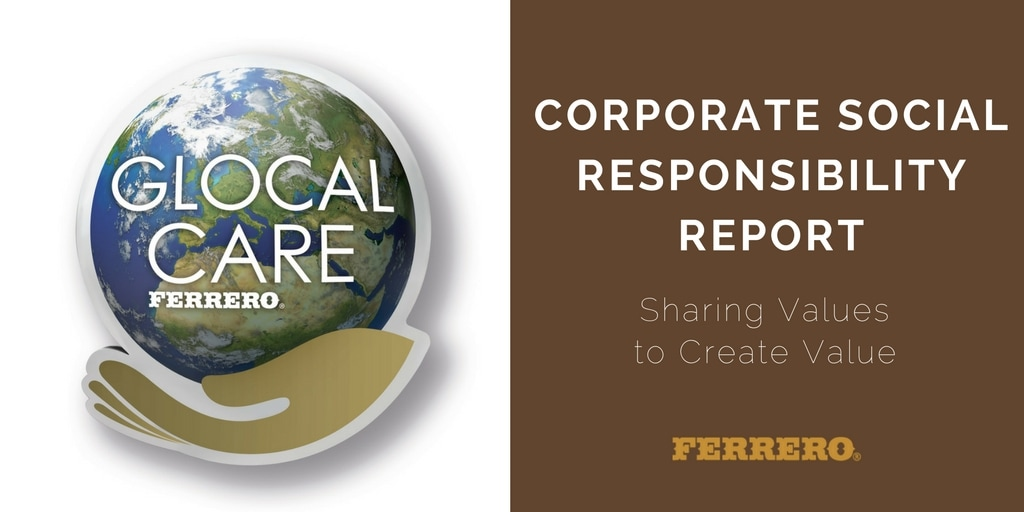 Ferrero launches Corporate Social Responsibility Report in the UK
