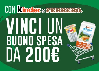 Vinci la spesa con Kinder e Ferrero - 2017 (concorso rivolto al trade)