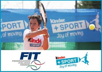 In campo con il Trofeo Tennis FIT Kinder+Sport