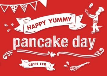 Pancake Day 2017 - Pancakes Love Nutella