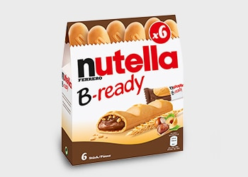 JETZT NEU: NUTELLA B-READY