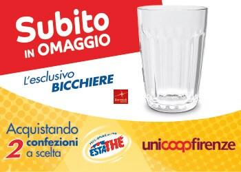 Bicchieri Estathé® per te - 2017 - Unicoop Firenze