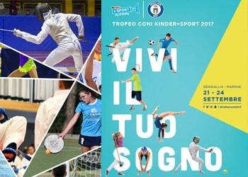 Torna il Trofeo CONI Kinder+Sport
