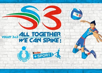 Gioca Volley S3 in Sicurezza Tour - con Kinder+Sport