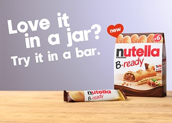 The launch of Nutella B-ready!