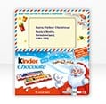 Kinder Chocolate T8 Santa Letter 100g