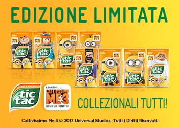 I nuovi Tic Tac Cativissimo Me 3