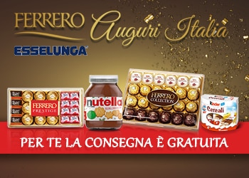 Ferrero ti offre la consegna gratuita
