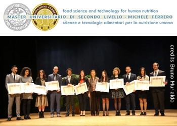 """VI edizione del Master universitario in Scienza e Tecnologia dell'Alimentazione e Nutrizione Umana """"Michele Ferrero"""""""