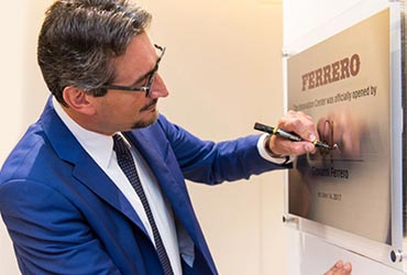 Ferrero Announces Opening of Singapore Innovation Center