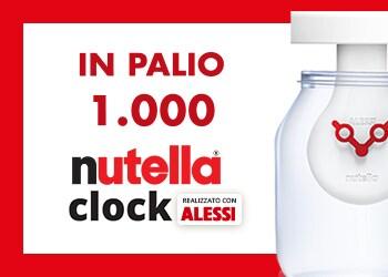 Nutella® Clock (concorso esclusivo per i punti vendita Cash & Carry)