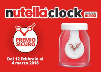 Nutella® Clock