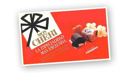 1990<br />El sabor único de Mon Chéri llega a España.