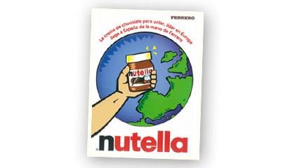1998<br />Se lanza en el mercado de las cremas de untar <sup>®</sup>Nutella, líder a nivel mundial, llega por fin a los consumidores españoles.