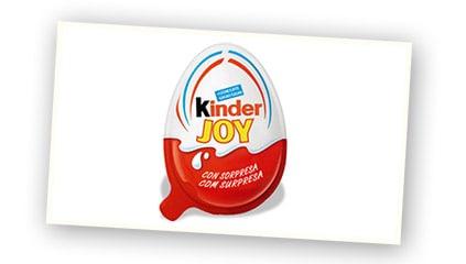2001<br />Lanzamiento de Kinder<sup>®</sup> Joy, la merienda del verano, para la felicidad de todos los niños del País.