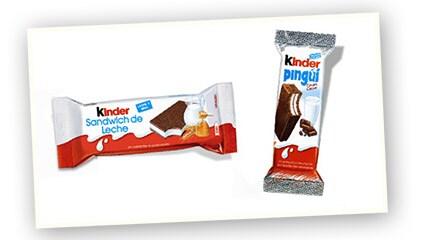 2007<br />Lanzamiento de Kinder Sandwich de Leche y Kinder Pinguí, las primeras meriendas frescas en el mercado.