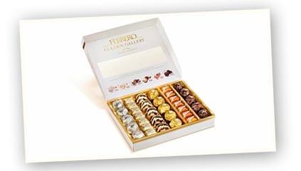 2014<br />Ferrero Ibérica lanza en España Ferrero Golden Gallery, el nuevo surtido de especialidades Ferrero con las recetas más exclusivas para deleitar el paladar.