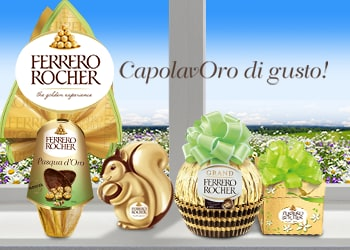 Pasqua Ferrero: CapolavORO di gusto!