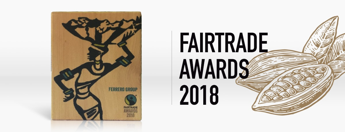 FERRERO WINS FAIRTRADE AWARD 2018