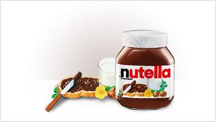 1964<br />NUTELLA<sup>®</sup> piyasaya sürüldü