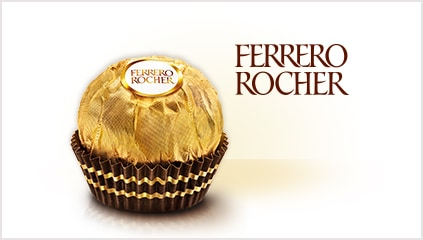 1982<br />Ferrero Rocher is launched