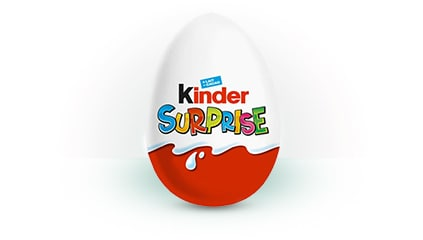 1974<br />Wraz z pojawieniem się Kinder Niespodzianki powiększa się rodzina produktów Kinder