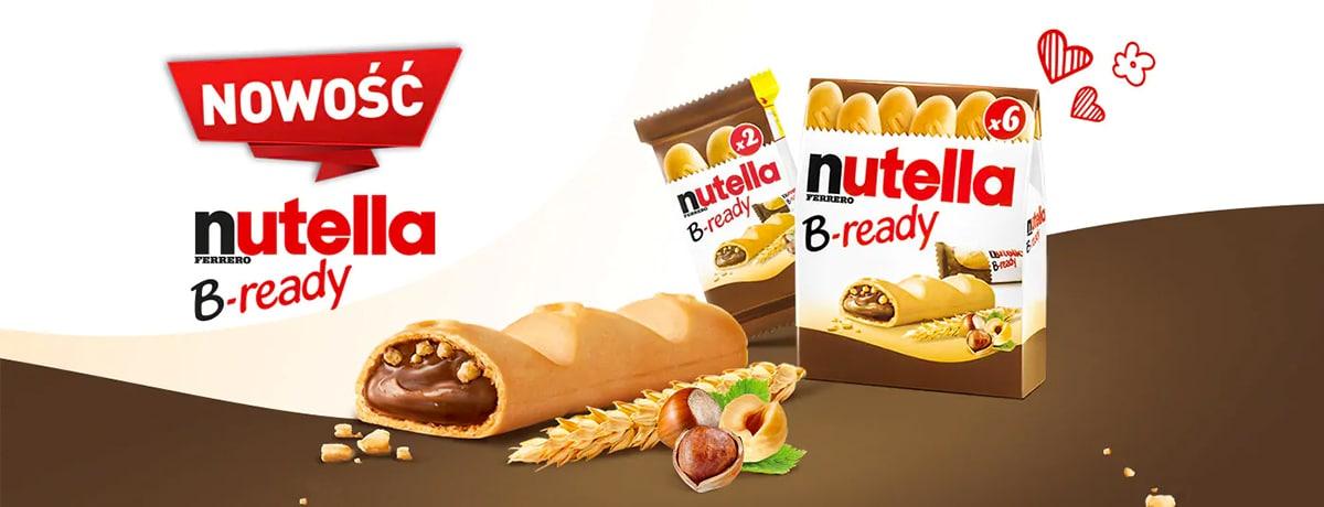 NOWOŚĆ - NUTELLA B-READY!