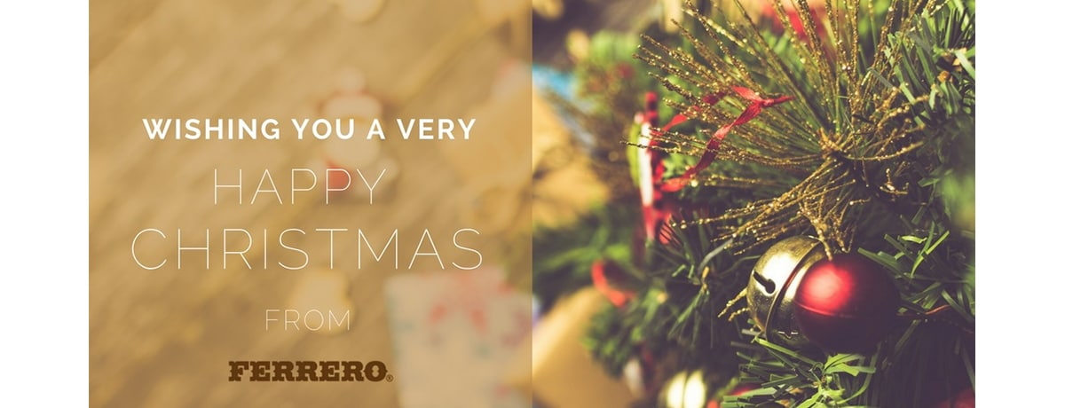 Wishing you a very happy Christmas from Ferrero