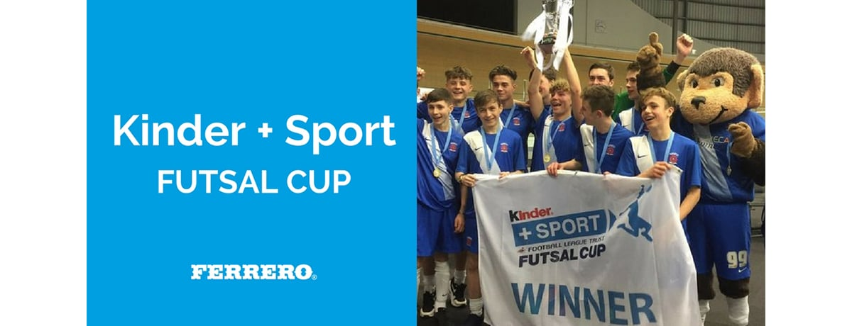 Getting kids moving with the Kinder + Sport Futsal Cup