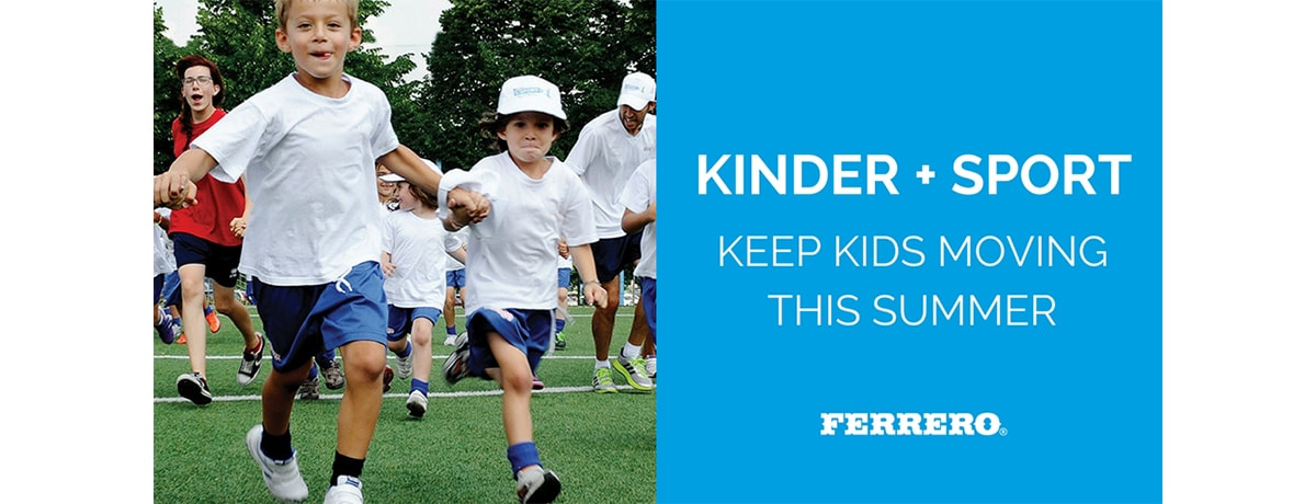 10 ways to keep kids moving this summer!
