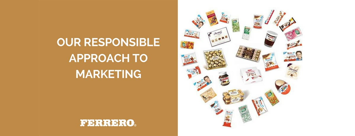 Taking responsibility: Ferrero and marketing