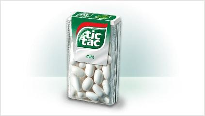 1969<br />Bevezetik a Tic Tac márkát
