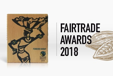 FERRERO REMPORTE LE FAIRTRADE AWARD 2018