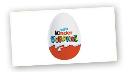 1993 <br />Kinder Surprise launched