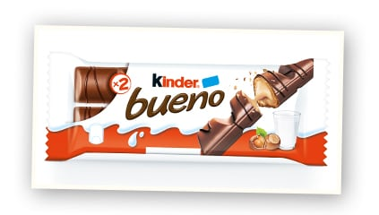 2003 <br />Kinder Bueno launched