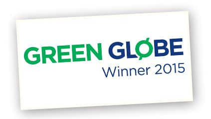 2015 <br />Green Globe award for Excellence in Sustainability NSW