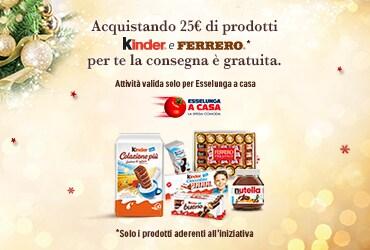Ferrero ti offre la consegna gratuita su esselungaacasa.it