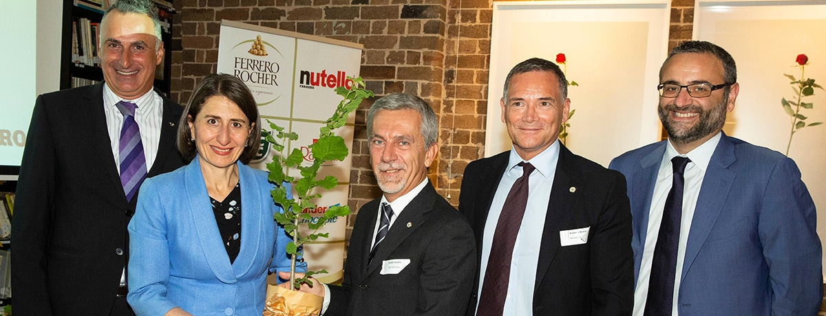 FERRERO COMMEMORATES 9TH CSR REPORT WITH GIFTING HAZELNUT TREES