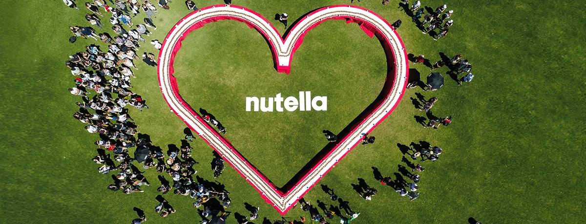 NUTELLA BREAKS ANOTHER GUINNESS WORLD RECORD!
