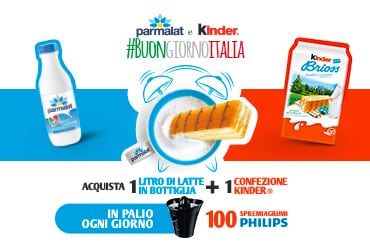 #BUONGIORNOITALIA con Ferrero e Parmalat