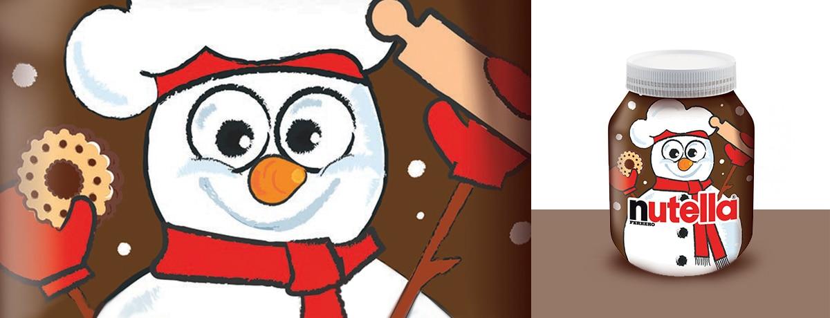 Las recetas para una Navidad en familia las tiene NUTELLA<sup>®</sup>