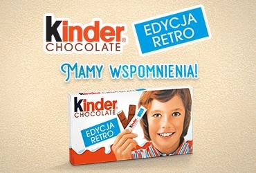 Kinder Chocolate Edycja Retro: Mamy Wspomnienia!